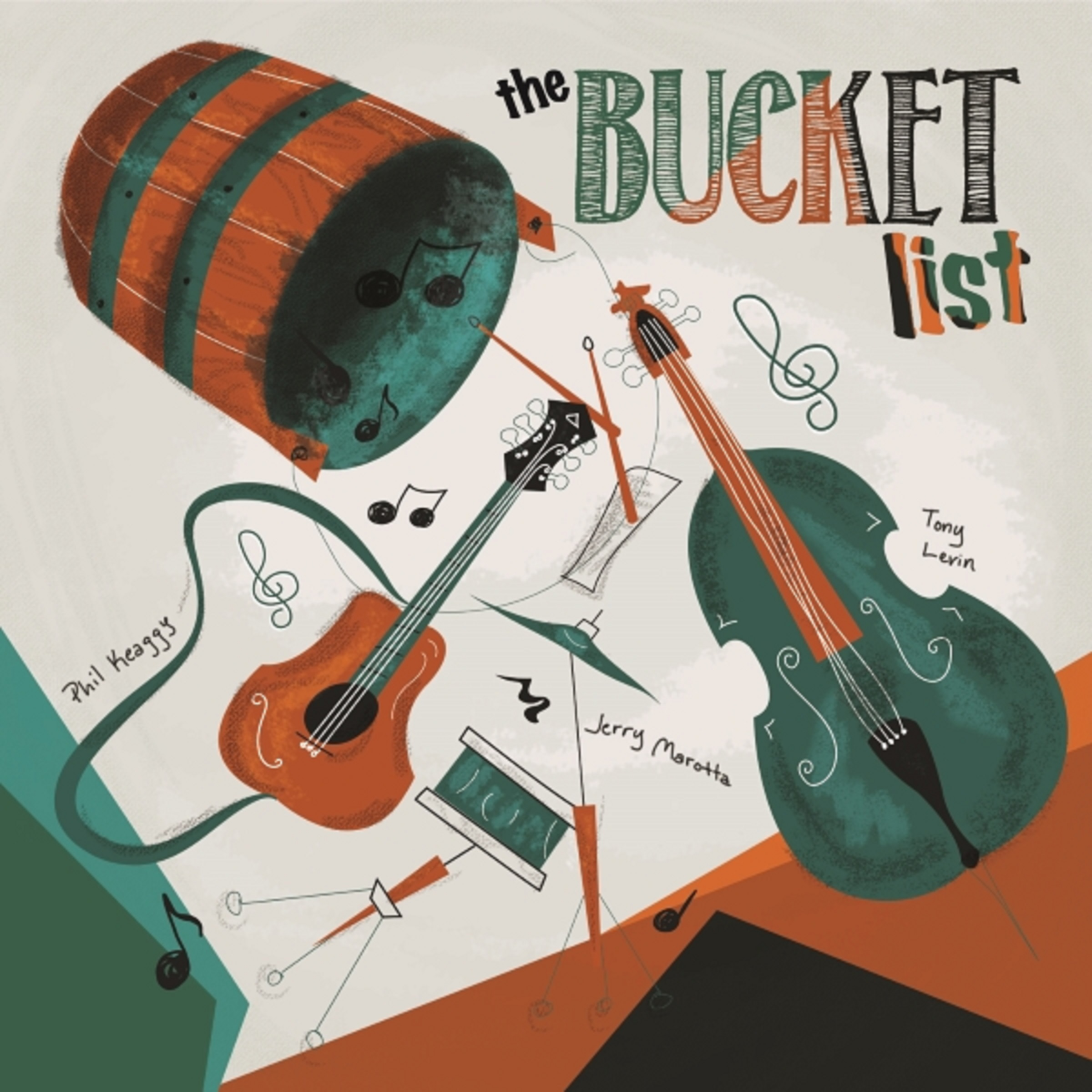 The Bucket List Release Debut Album