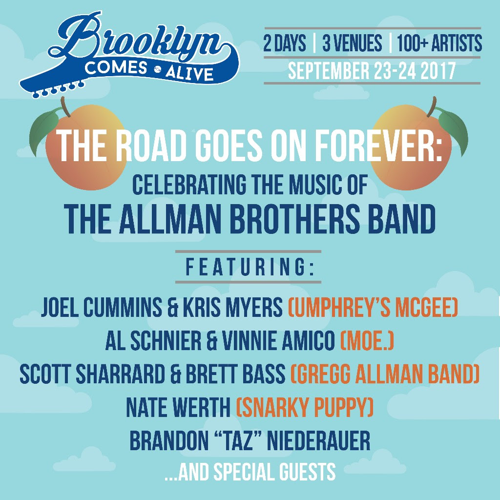 Brooklyn Comes Alive To Celebrate Allman Brothers