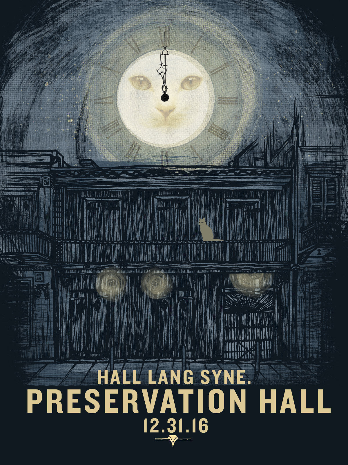 New Year's Eve at Preservation Hall