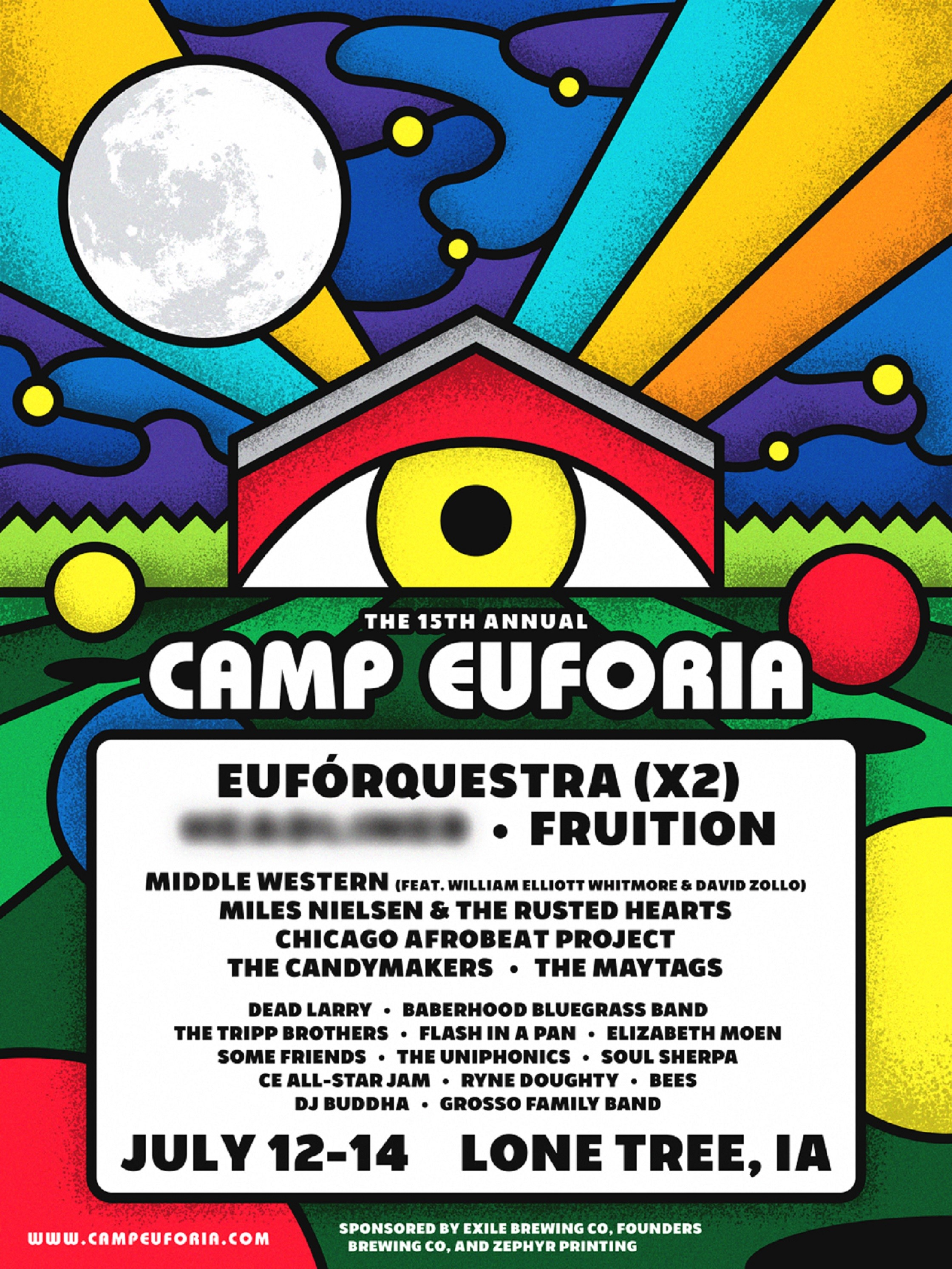 Camp Euforia Announces Initial 2018 Lineup