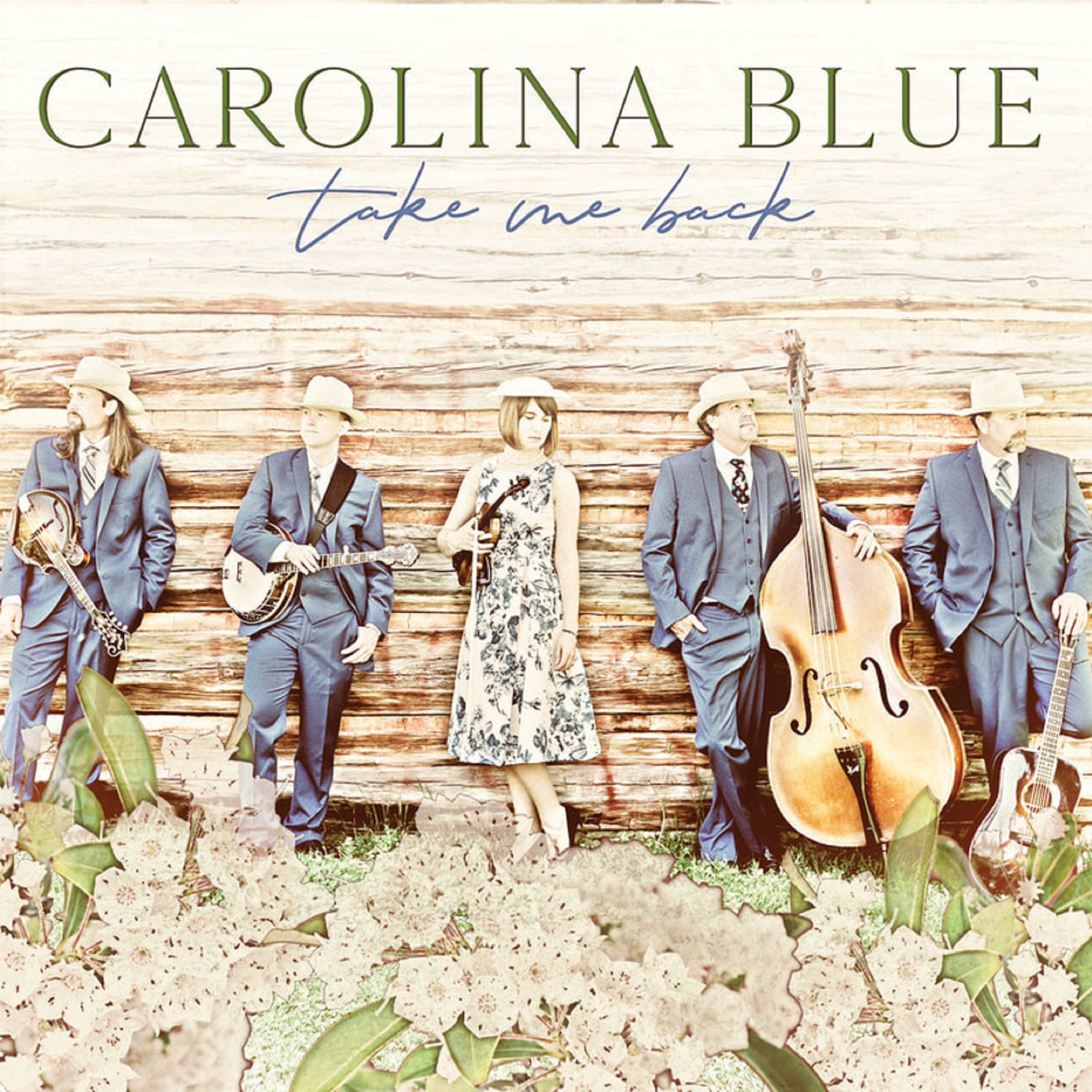 Carolina Blue announce new CD: TAKE ME BACK