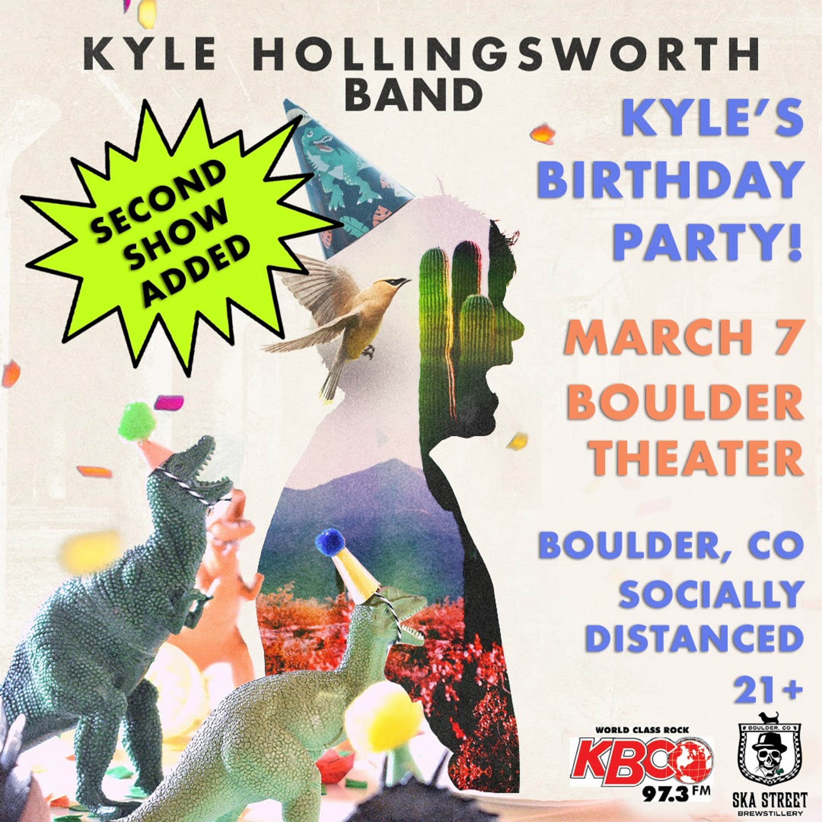 Kyle Hollingsworth Band Adds 2nd Birthday show in Boulder