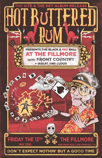 Hot Buttered Rum at The Fillmore SF, 5/13