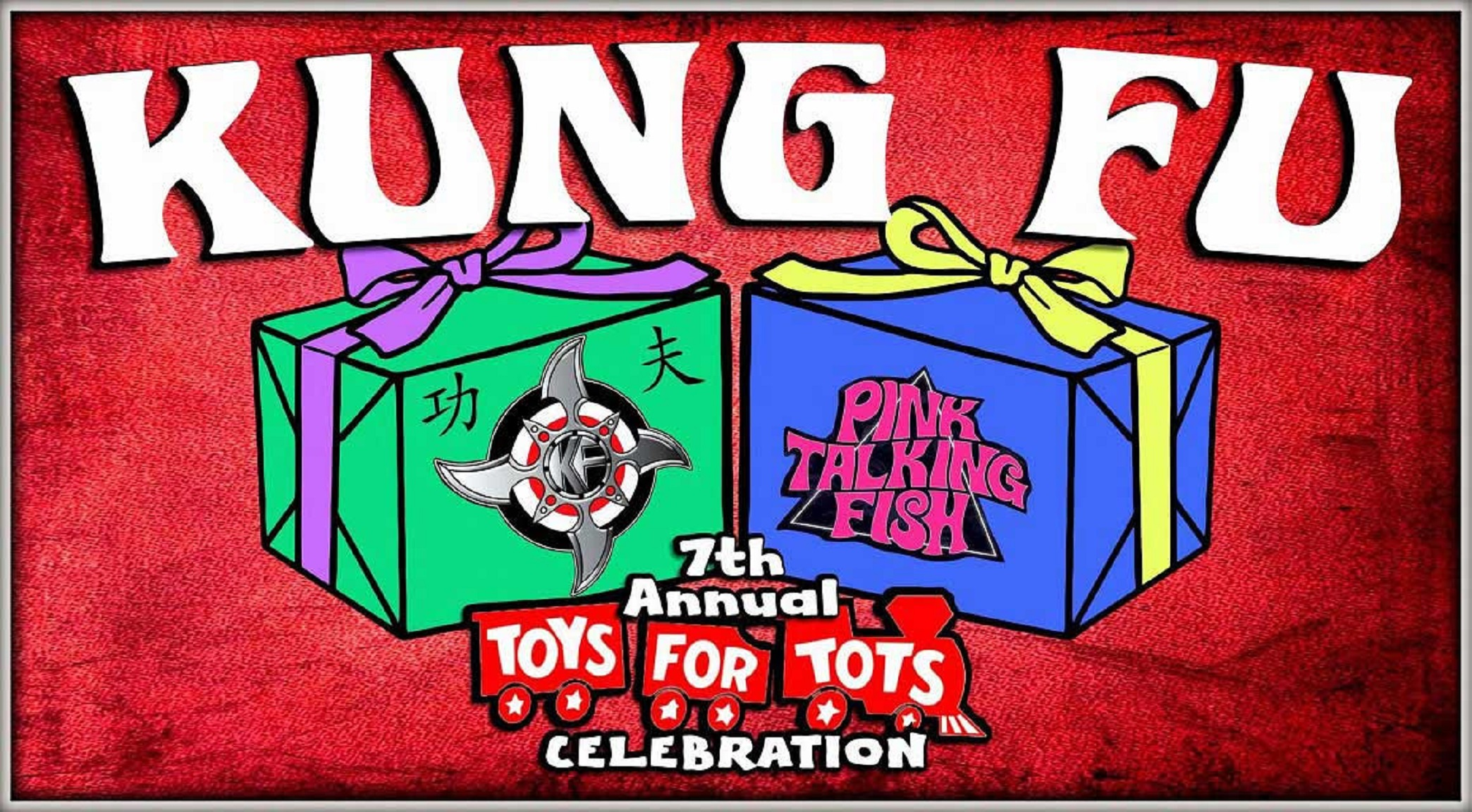 Kung Fu's 7th Annual Toys For Tots Fundraiser