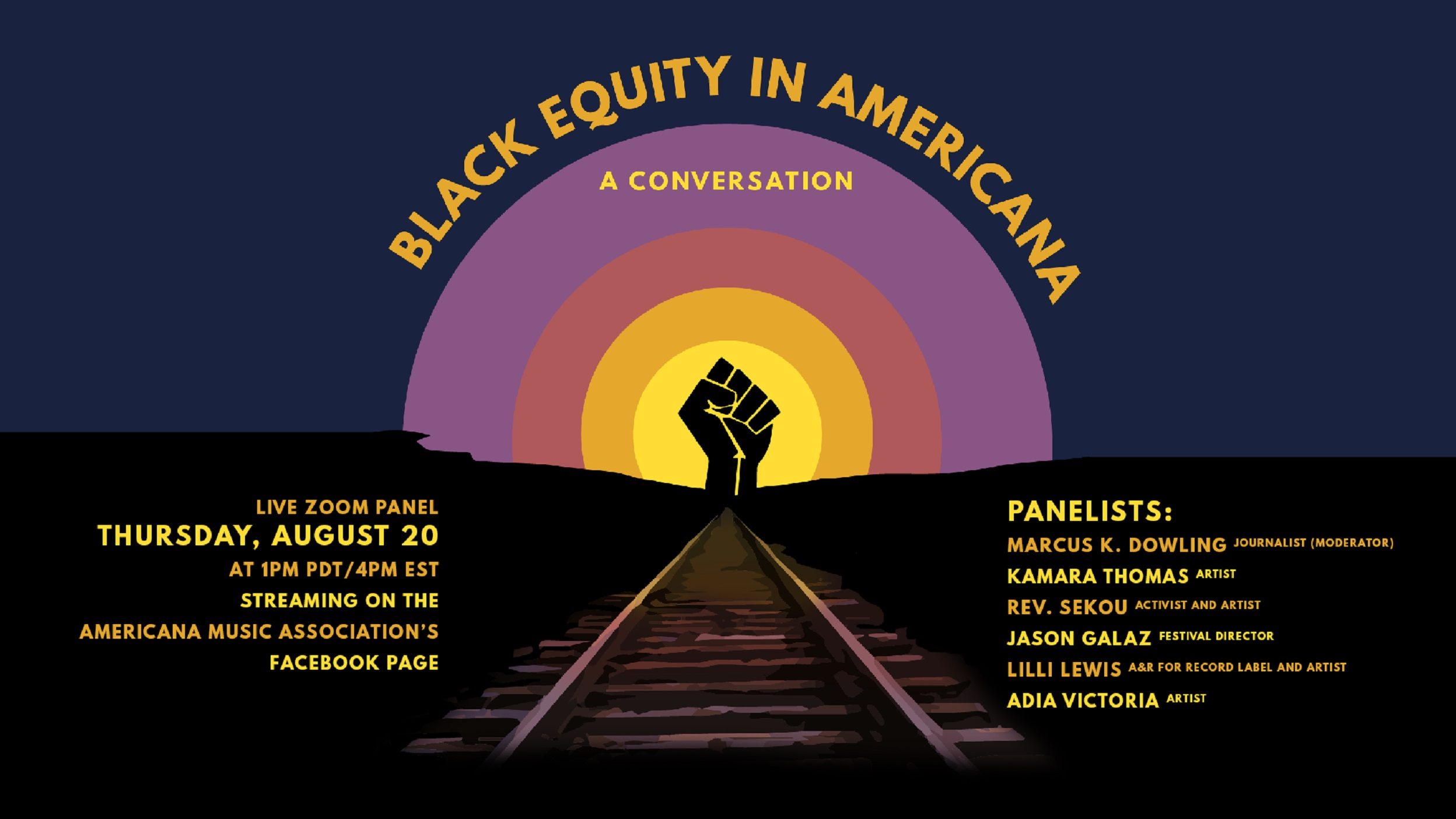 Announcing Black Equity in Americana: A Conversation