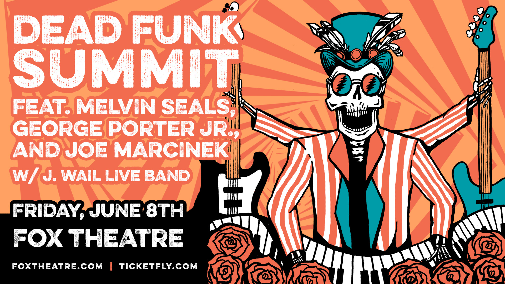 Dead Funk Summit @ The Fox | Preview