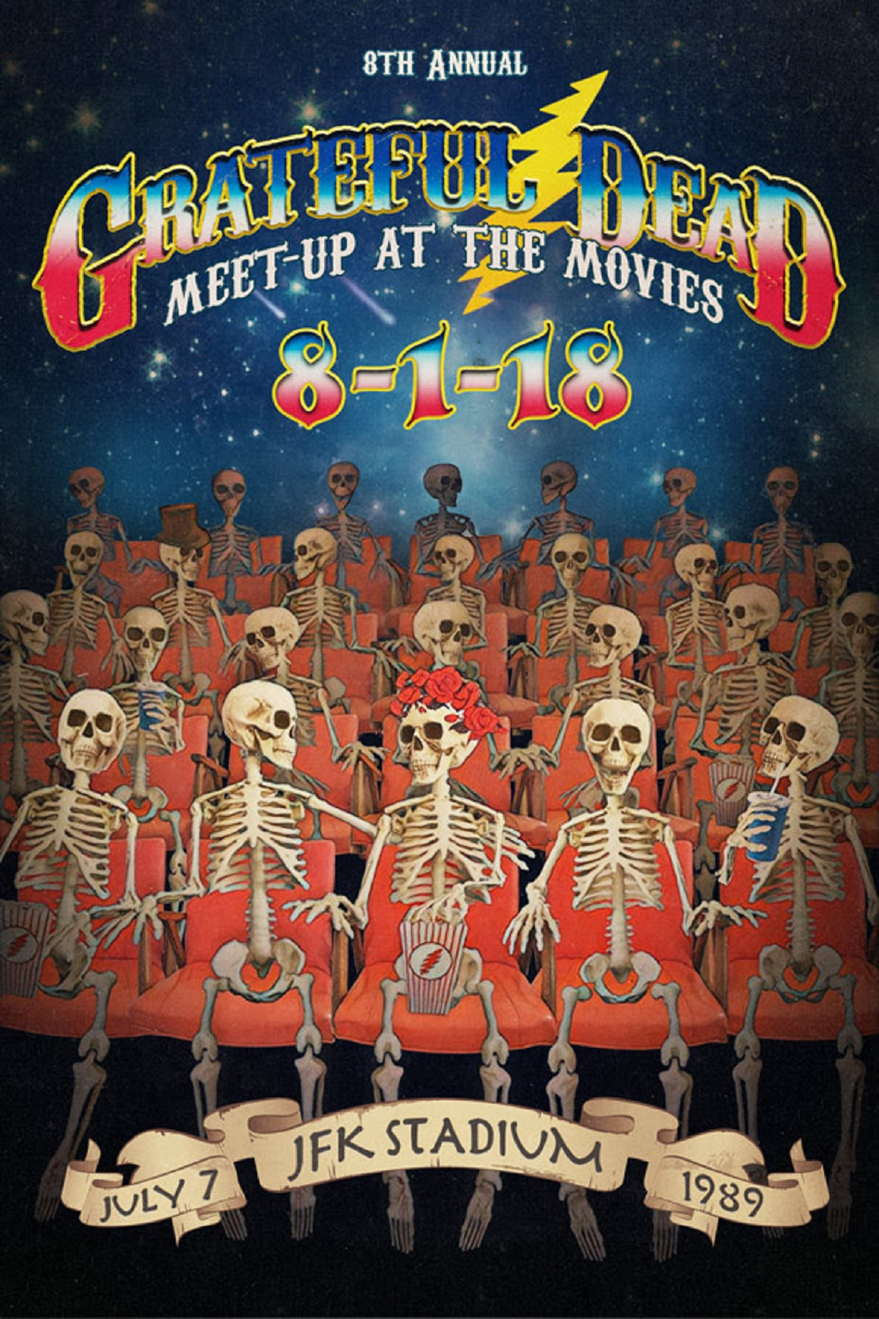Grateful Dead 8th Annual Meet-Up At The Movies
