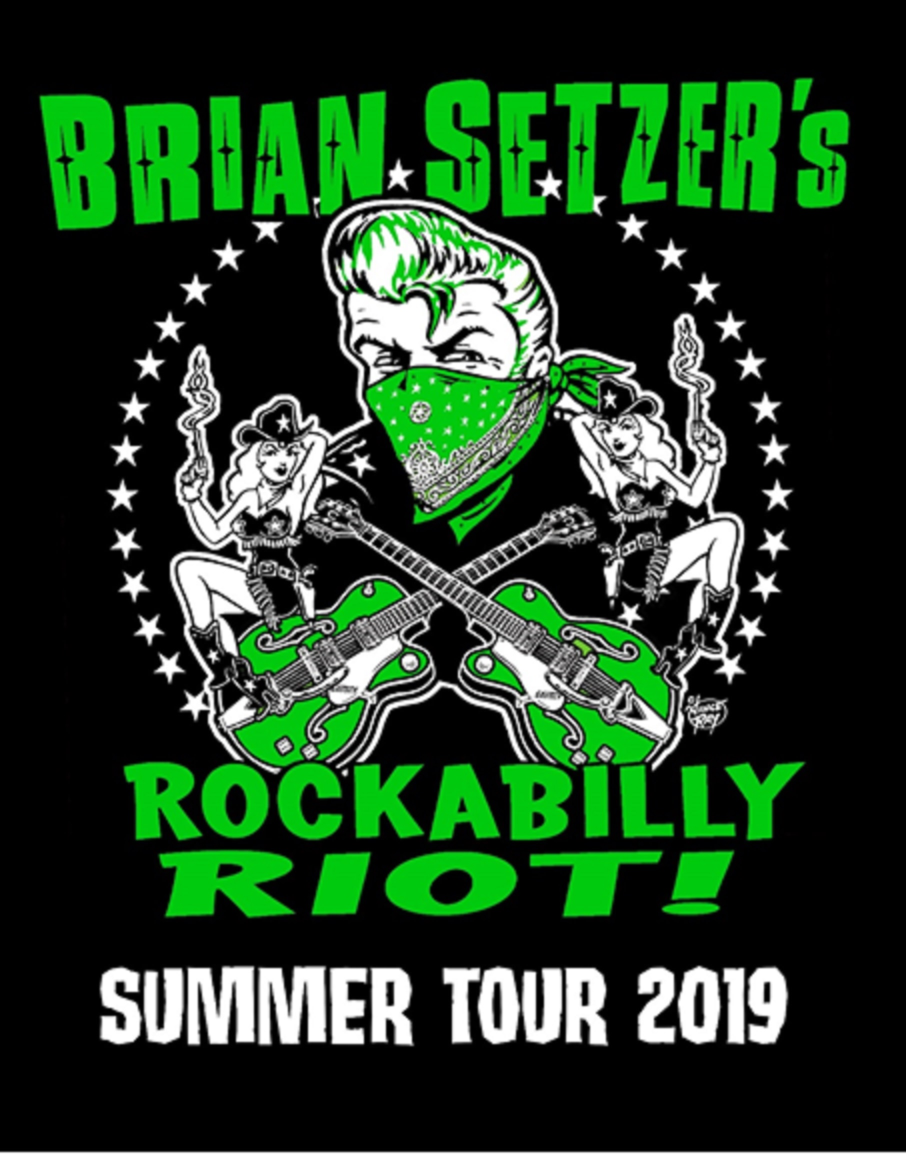 "Brian Setzer Announces ""Rockabilly Riot!"" - U.S. Summer Tour Dates"