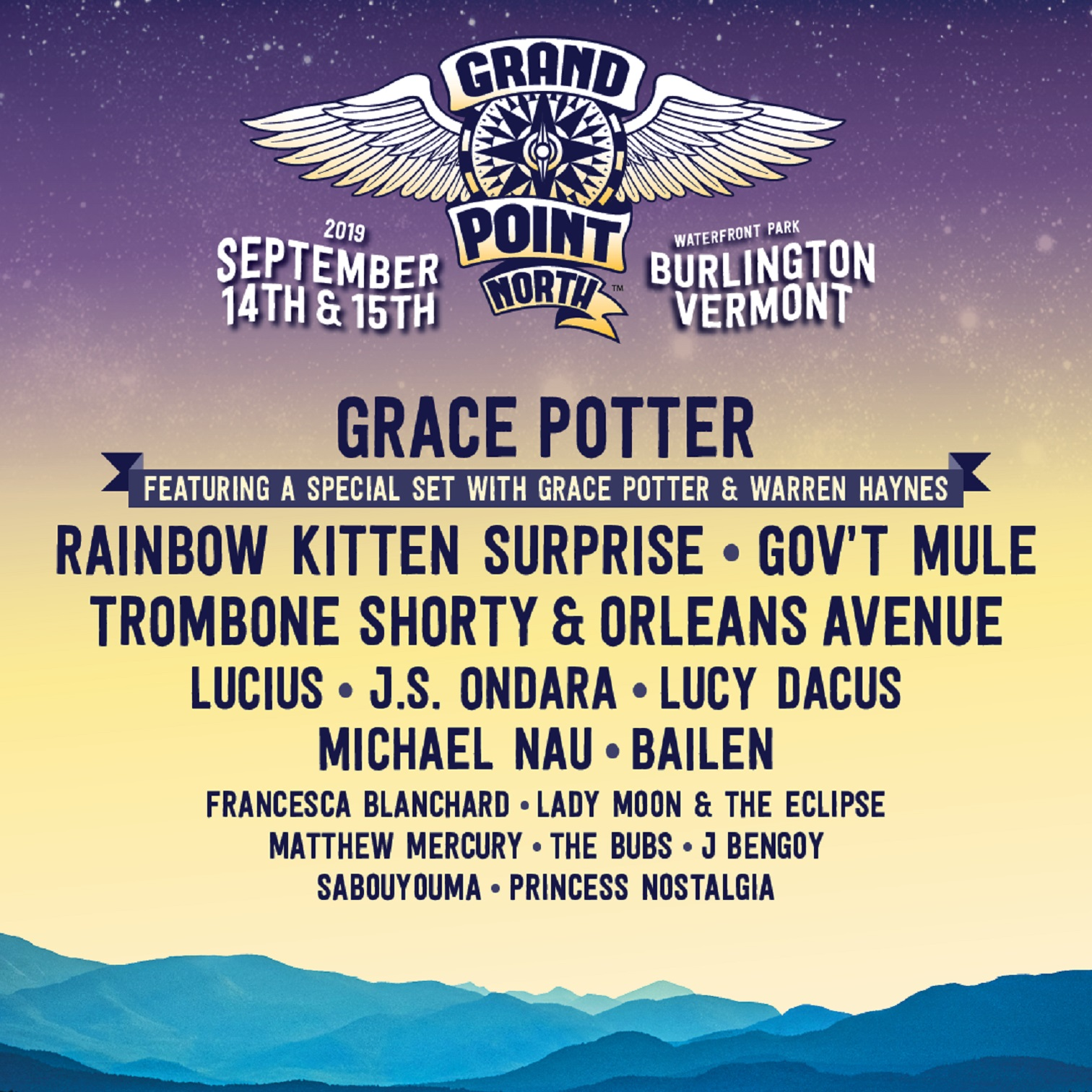 Gov't Mule Added To Grand Point North
