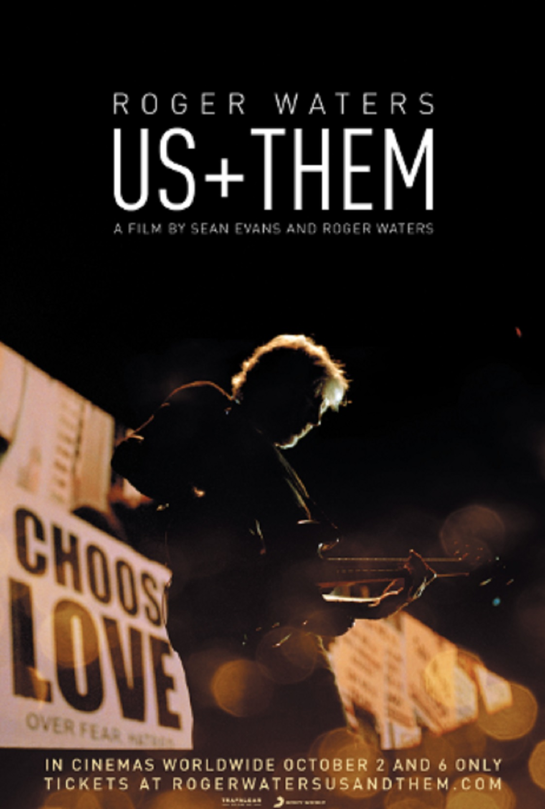 'Roger Waters Us + Them' Film - in theaters worldwide Oct. 2 & 6