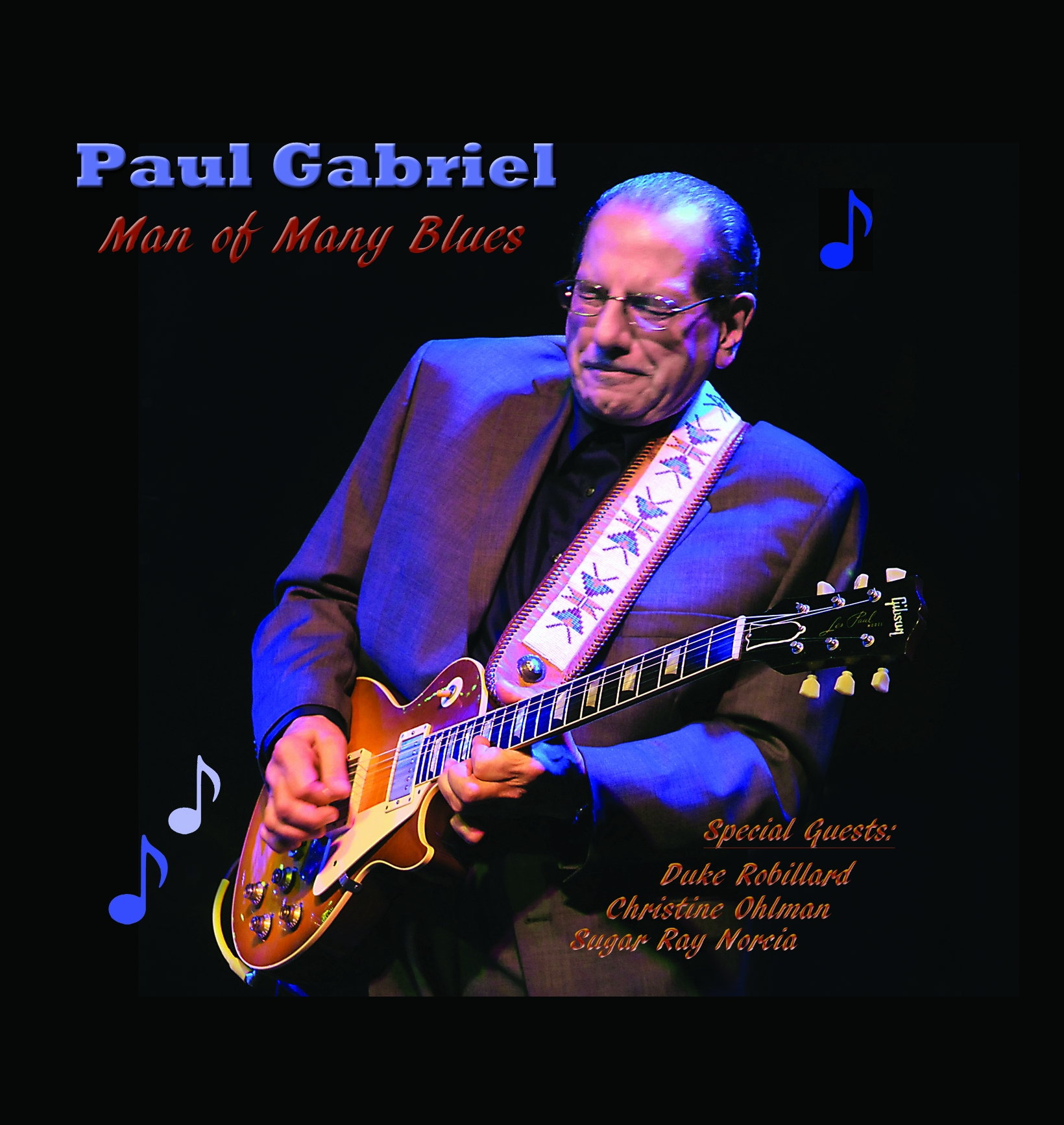 "Paul Gabriel Is a ""Man of Many Blues"" on New CD"