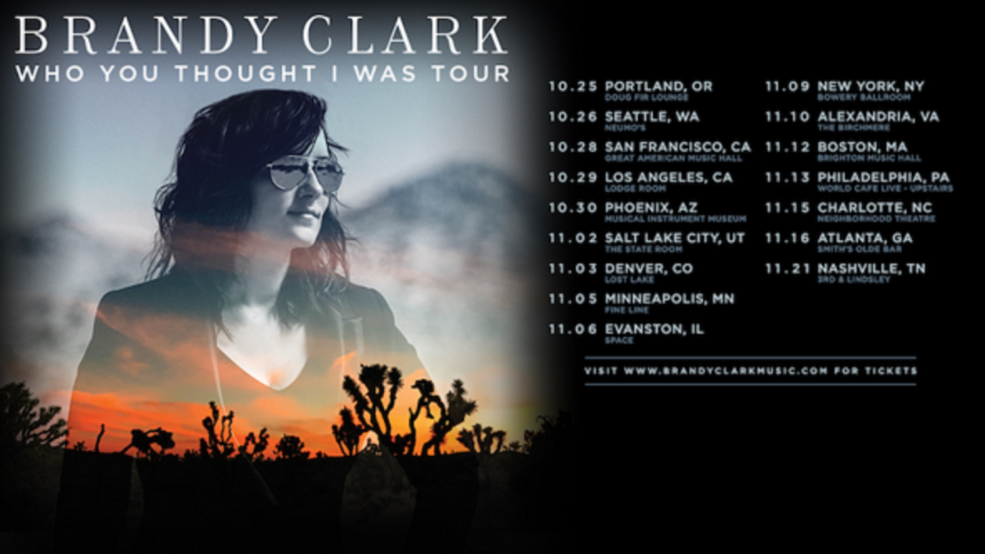 "Brandy Clark confirms fall ""Who You Thought I Was"" headline tour"