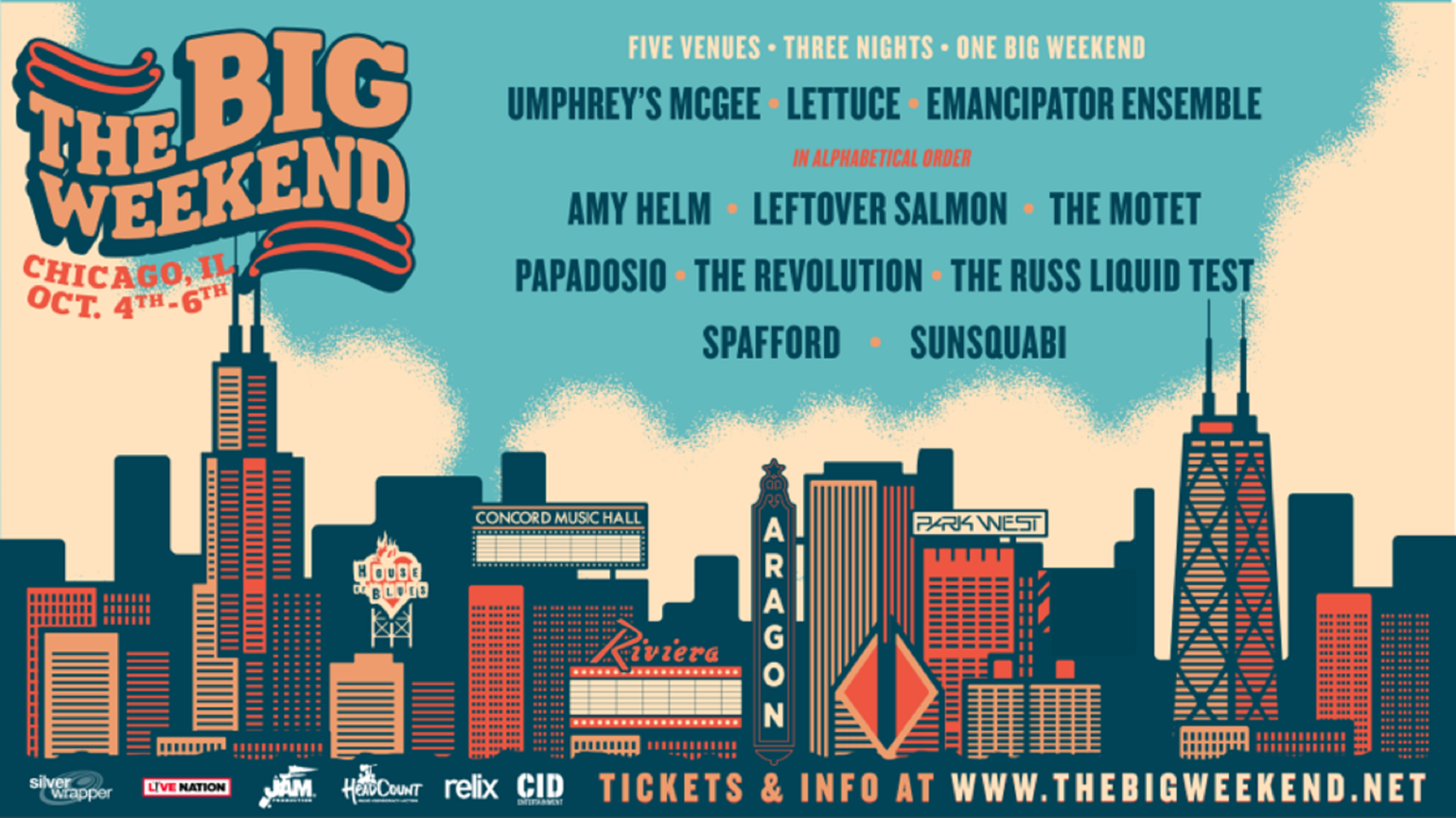 THE BIG WEEKEND Announces Headcount + Propeller Fly Away Contest