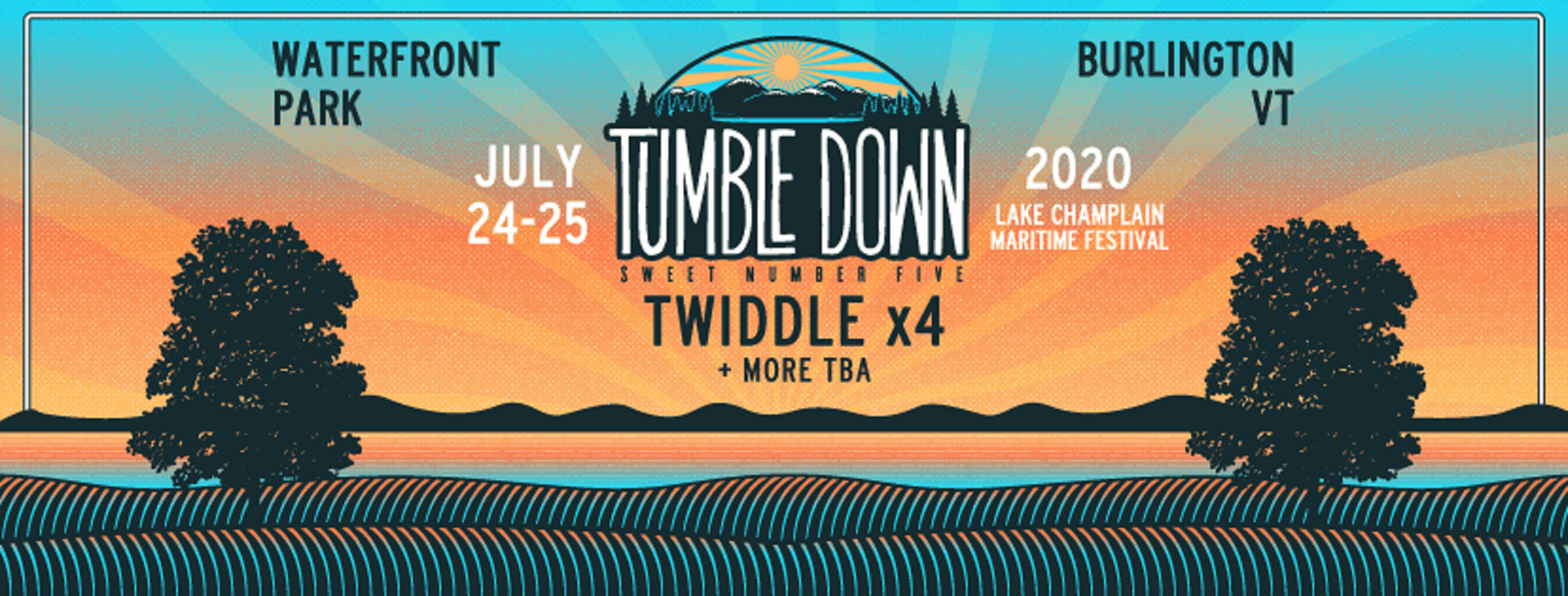 JUST ANNOUNCED: Twiddle's Tumble Down 7/24 - 7/25/20 at Waterfront Park