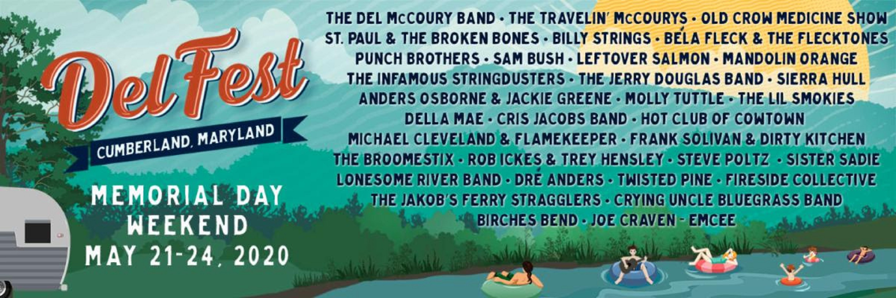DelFest Announces Leftover Salmon, The Jerry Douglas Band, Anders Osborne & Jackie Greene, Molly Tuttle, and more