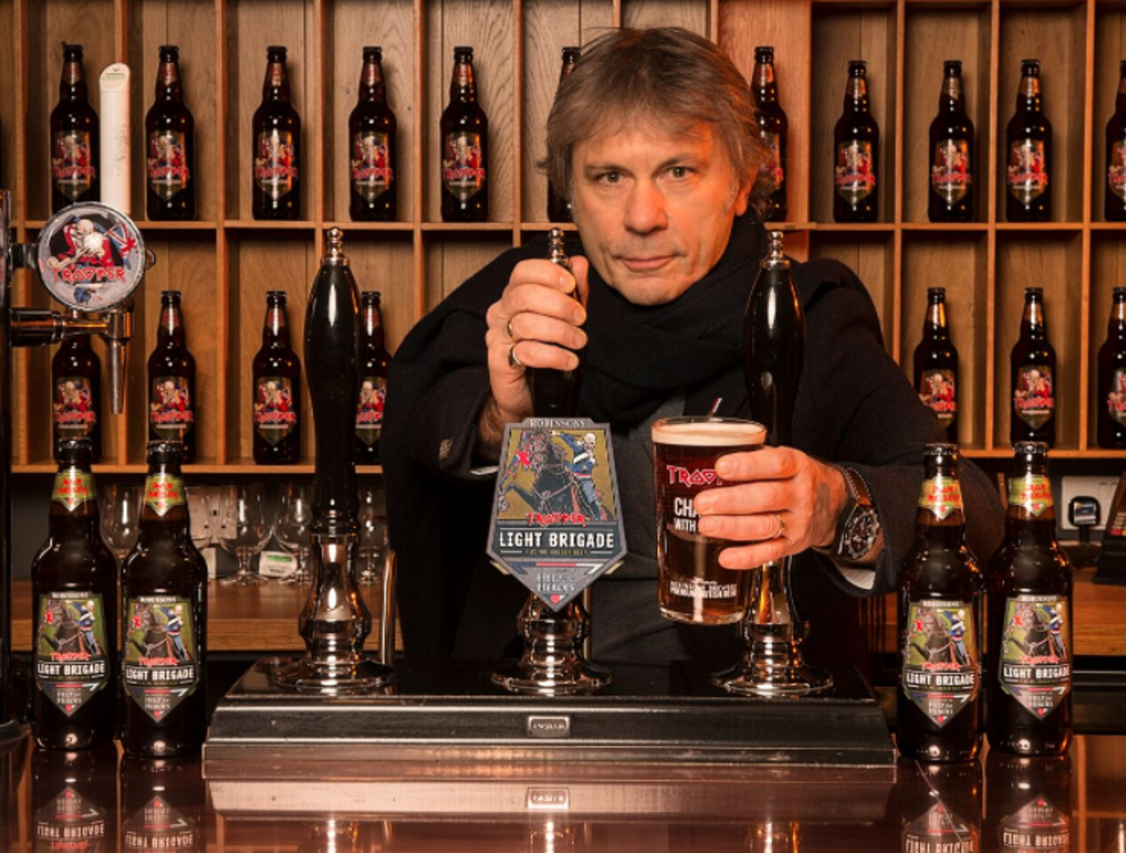 Iron Maiden and Help For Heroes launch new beer
