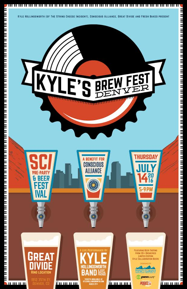 Kyle Hollingsworth: Kyle's Brew Fest DENVER