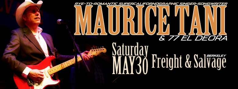 Maurice Tani at Freight & Salvage on May 30, 2015
