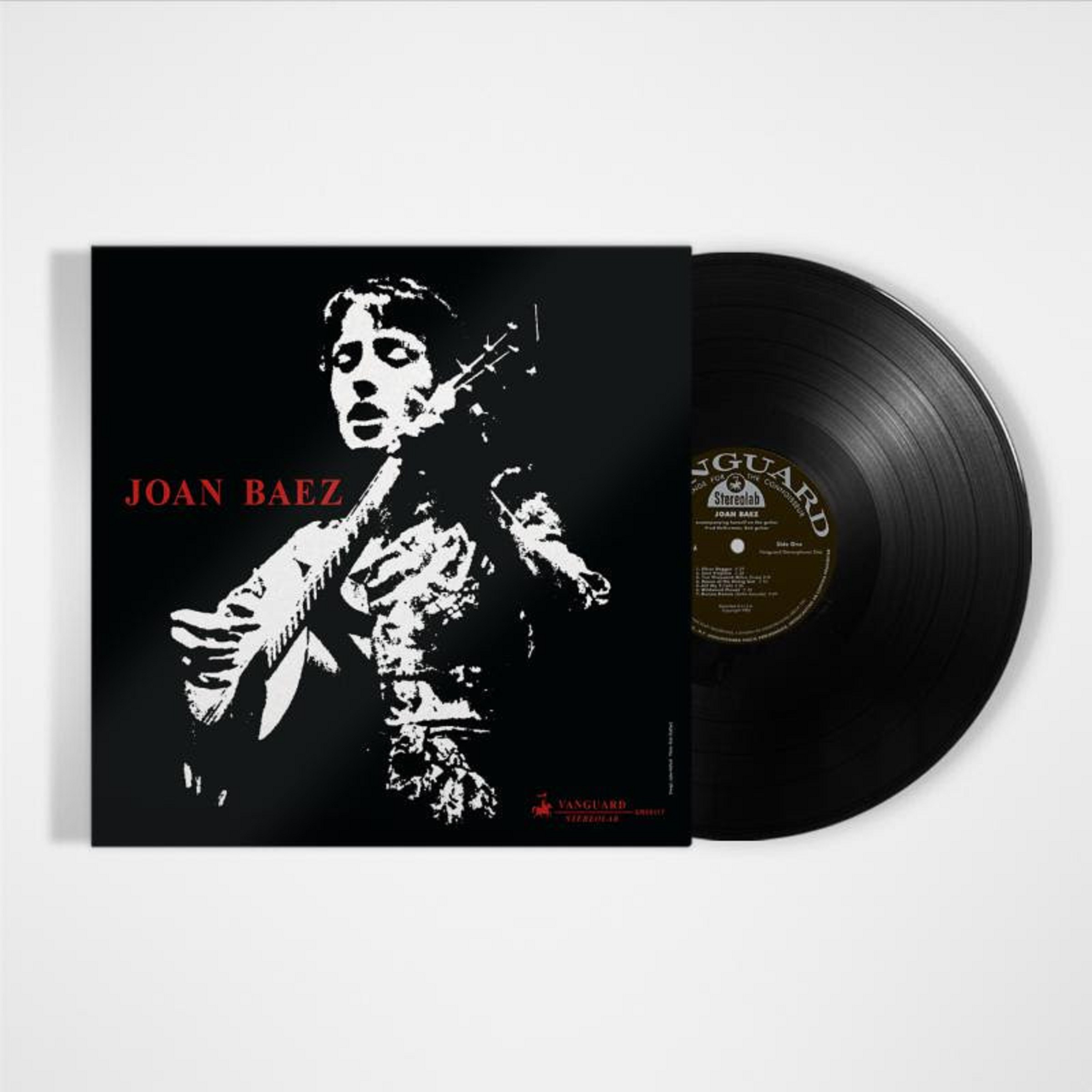 Joan Baez re-issues self-titled Debut Album