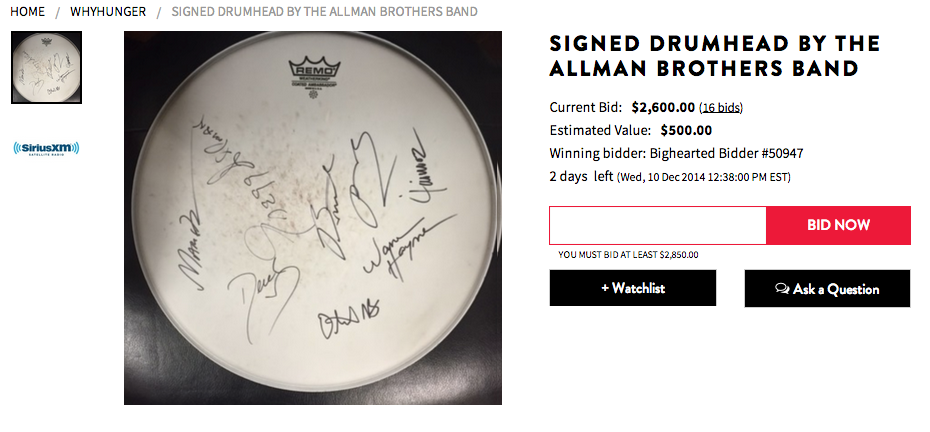 The ultimate gift for any Allman Brothers Fan
