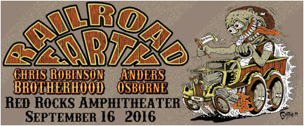 Railroad Earth Return To Red Rocks in Sept.