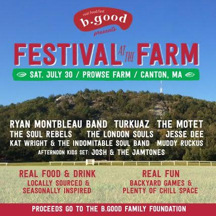 b.good presents Festival at the Farm, 7/30