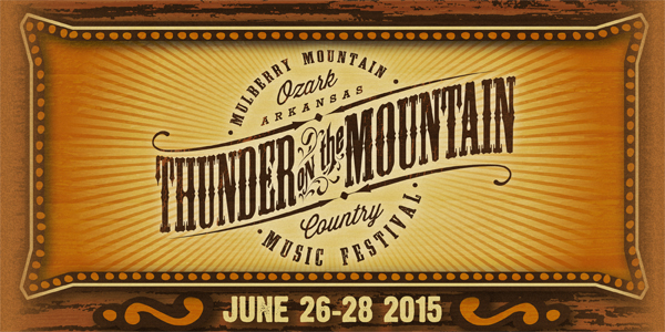 Thunder on the Mountain Headliner Daily Schedule Released
