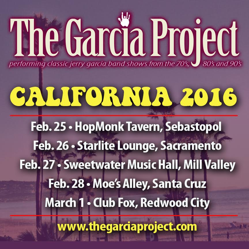 The Garcia Project announce West Coast Tour