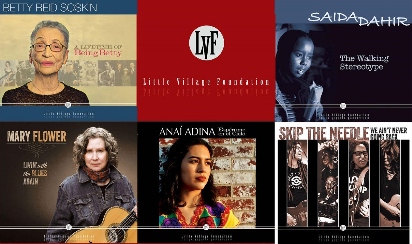 Little Village Foundation Releases New Albums