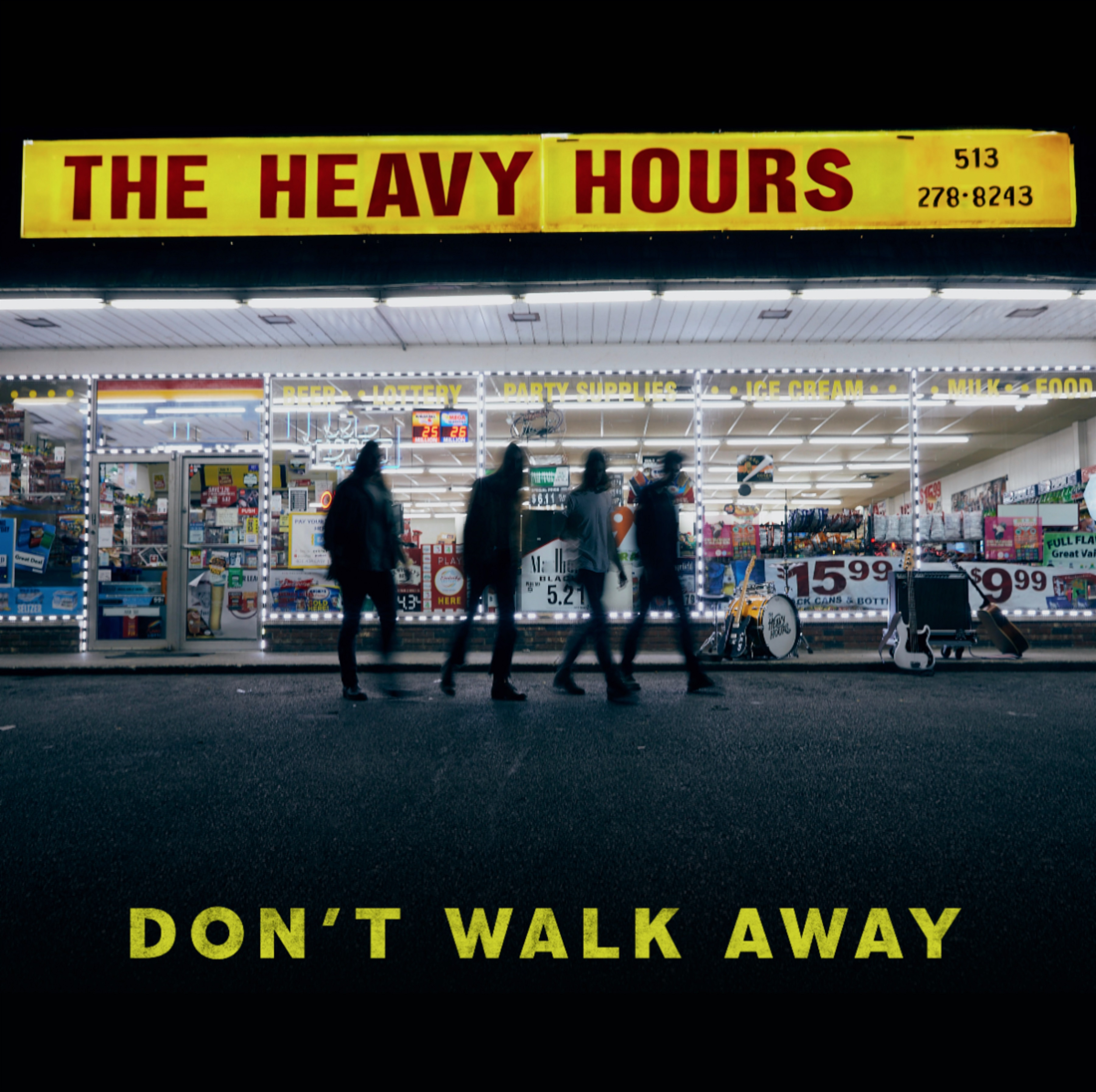 "The Heavy Hours | ""Don't Walk Away"" 