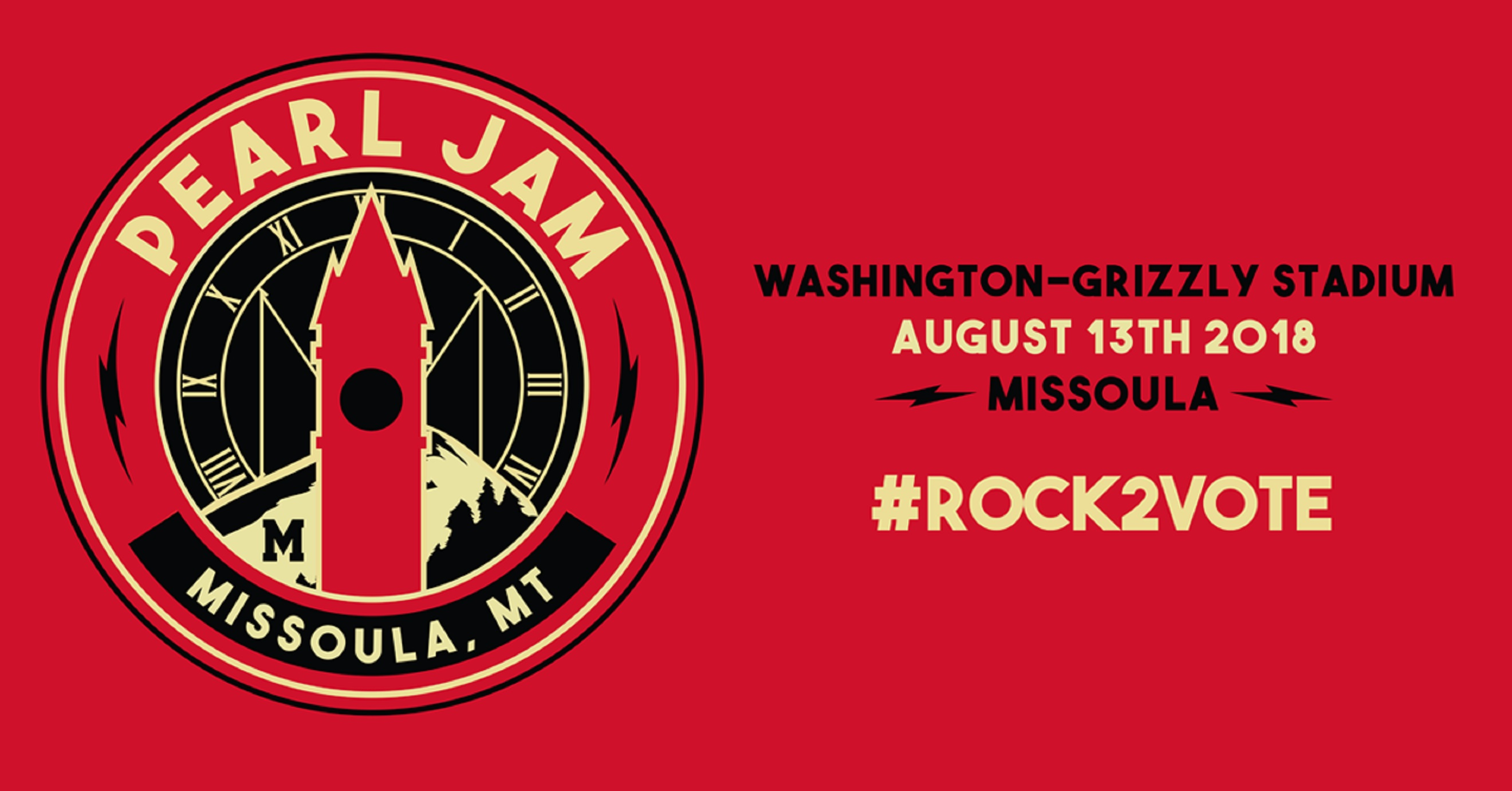 Pearl Jam Introduces #Rock2Vote