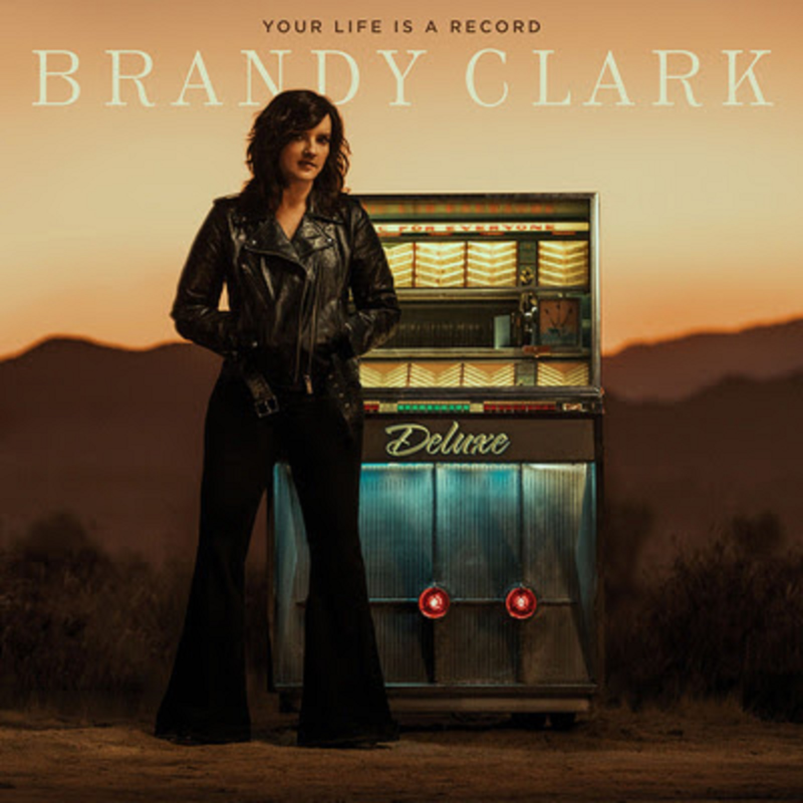 "Brandy Clark's new version of ""The Past is the Past"" debuts today, featuring and produced by Lindsey Buckingham"