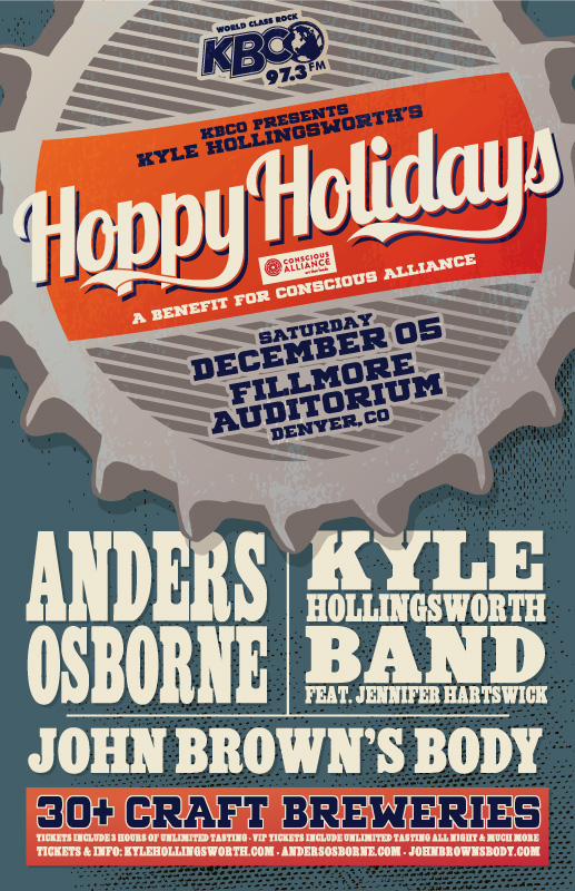 Kyle Hollingsworth Announces Hoppy Holidays in Denver