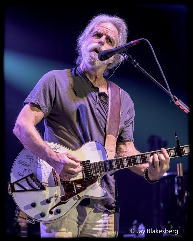 Weir Plays D'Angelico Guitar For Charity