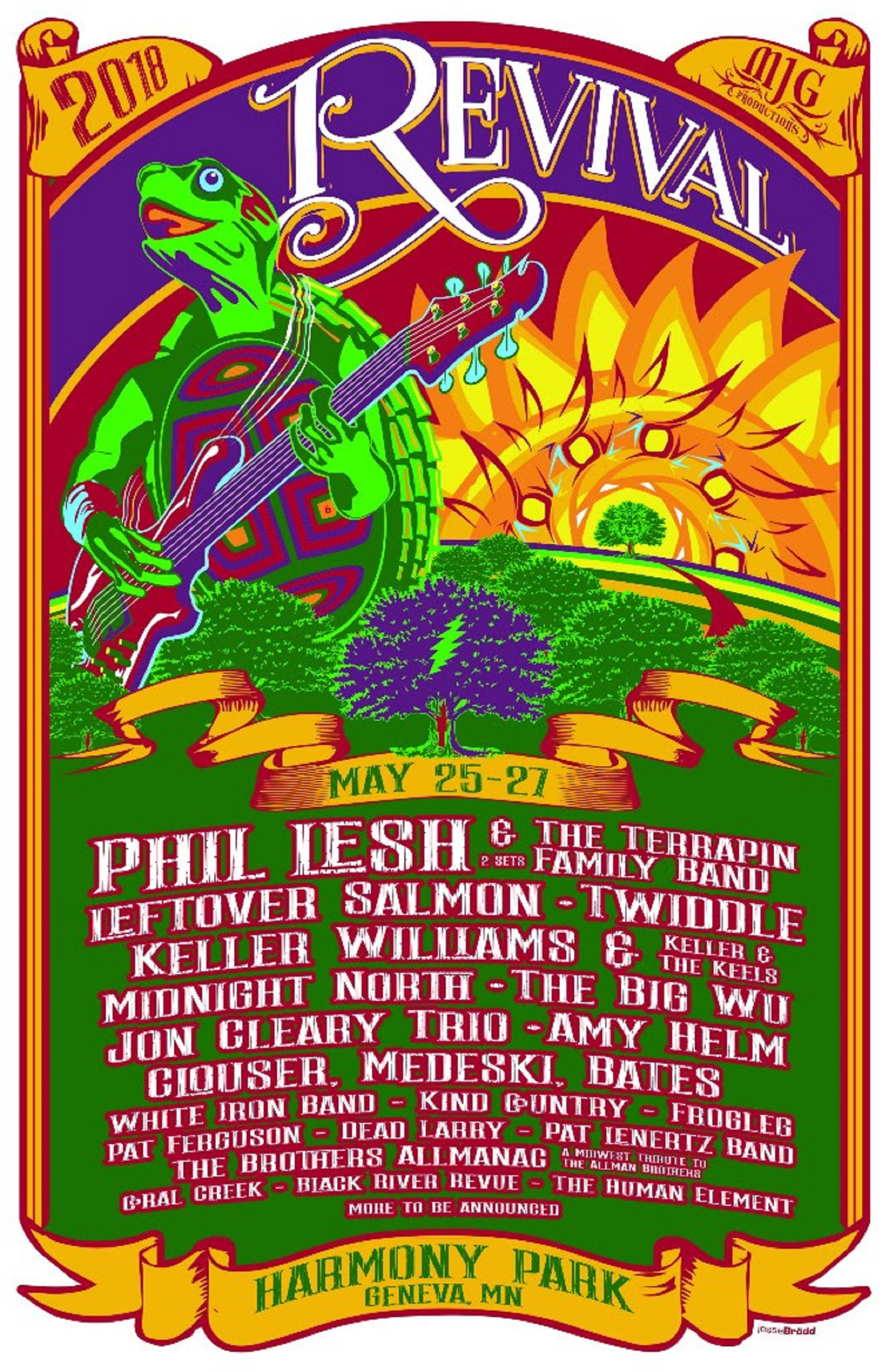 Phil Lesh & The Terrapin Family Band to Headline Revival Music Festival