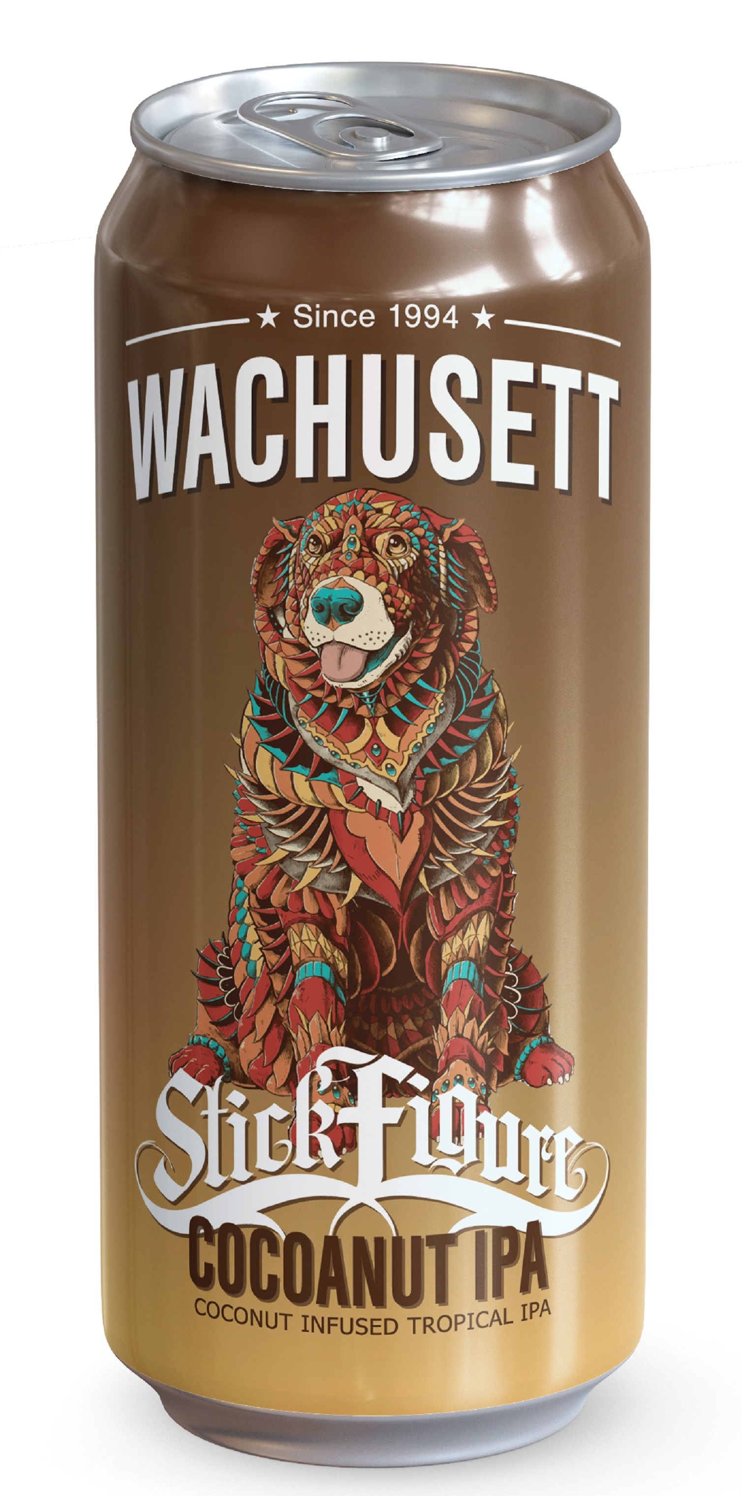 Wachusett Brewing Partners with Stick Figure on New Beer