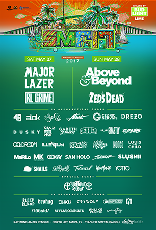Sunset Music Festival Announce '17 Lineup
