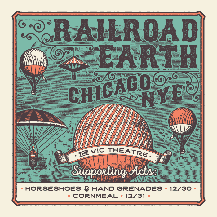 Railroad Earth Announces New Years Plans