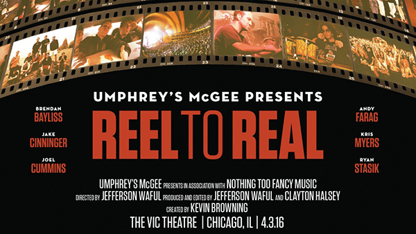 Umphrey's Chicago Reel To Real Premiere