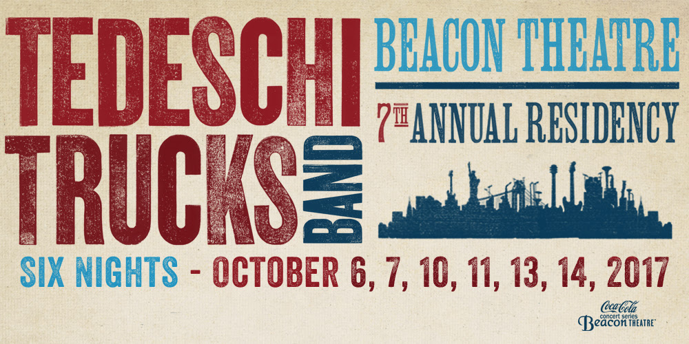 Tedeschi Trucks Band Announce 6-Night Run