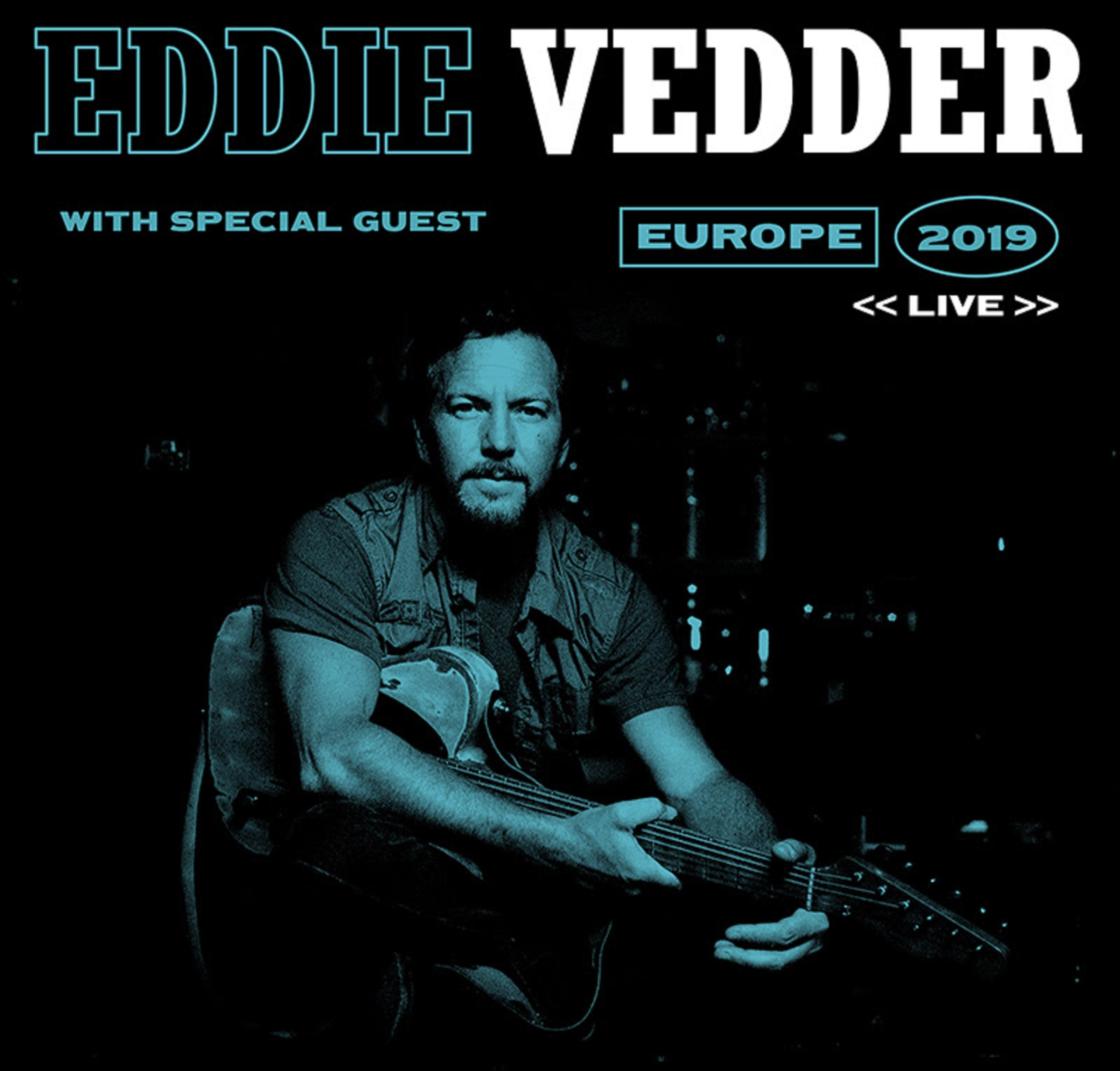 Eddie Vedder Announces 2019 European Tour