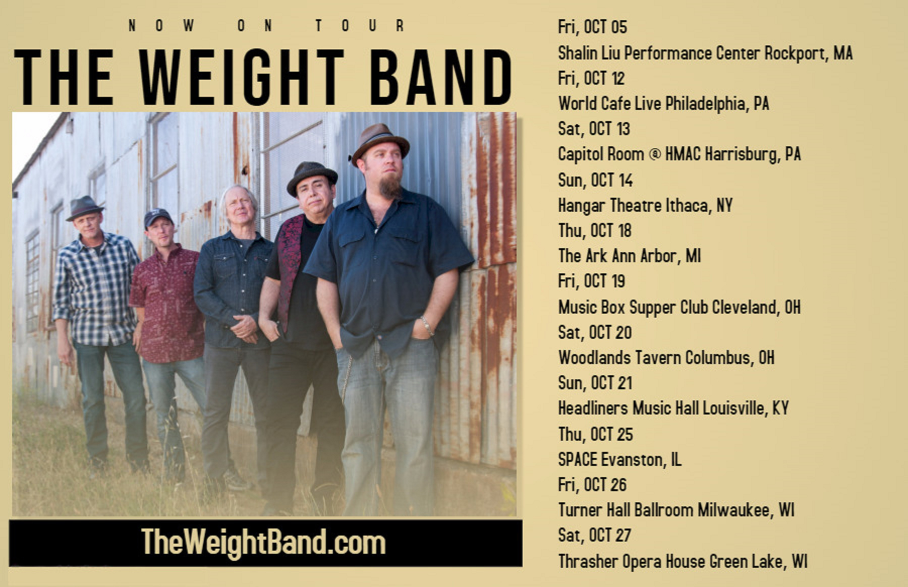 The Weight Band Releases World Gone Mad, New Tour Dates Announced