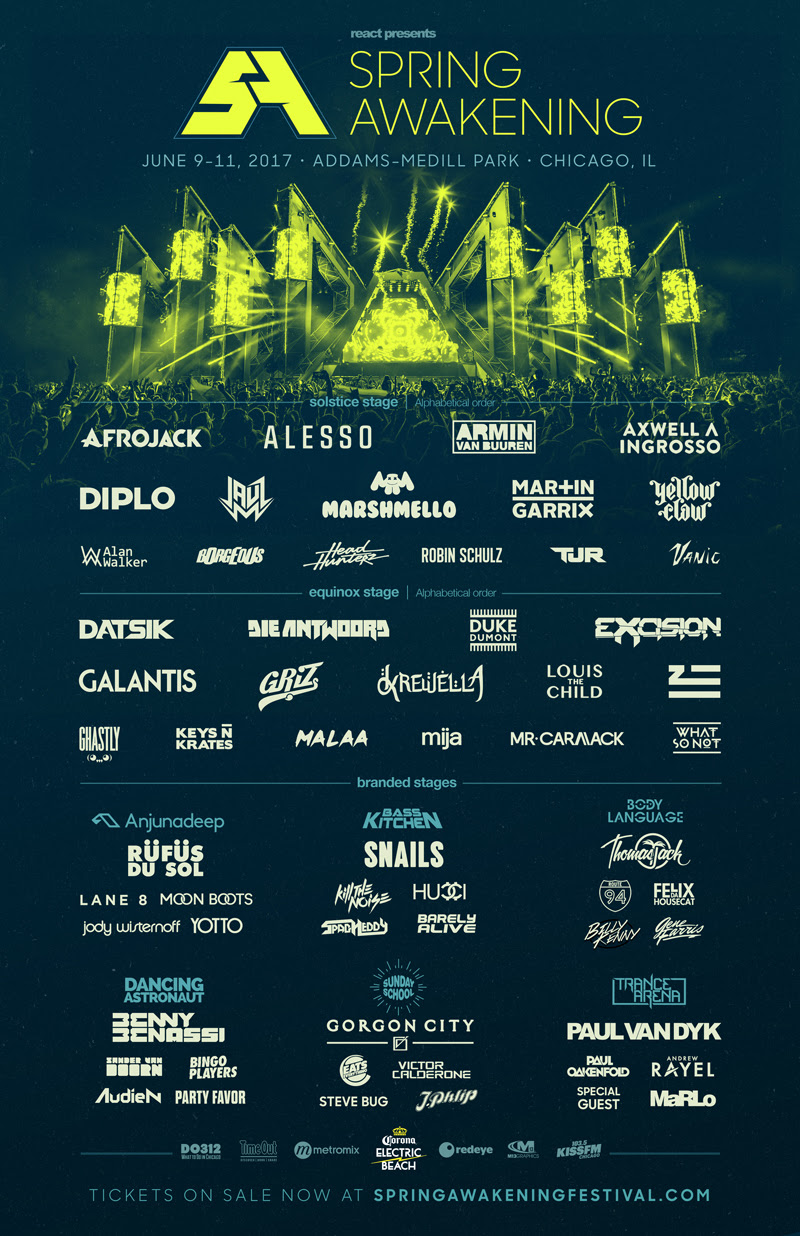 Spring Awakening Announces Full 2017 Lineup