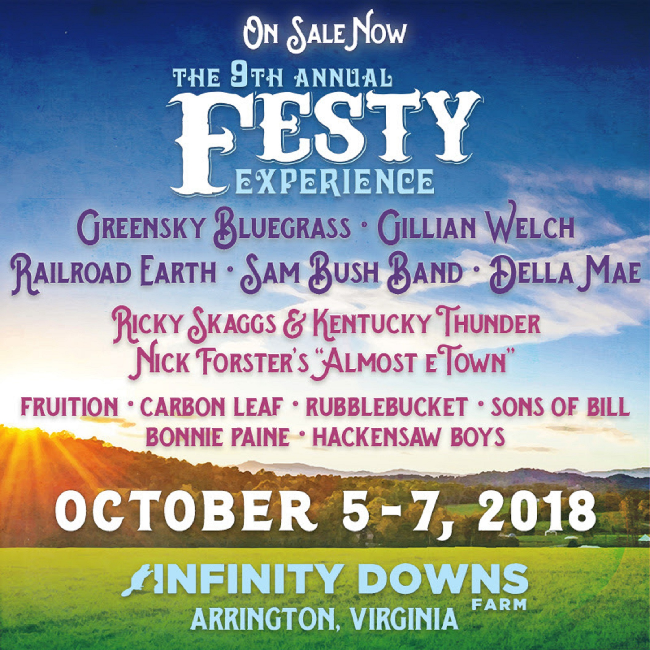 The Festy Announces Initial 2018 Lineup