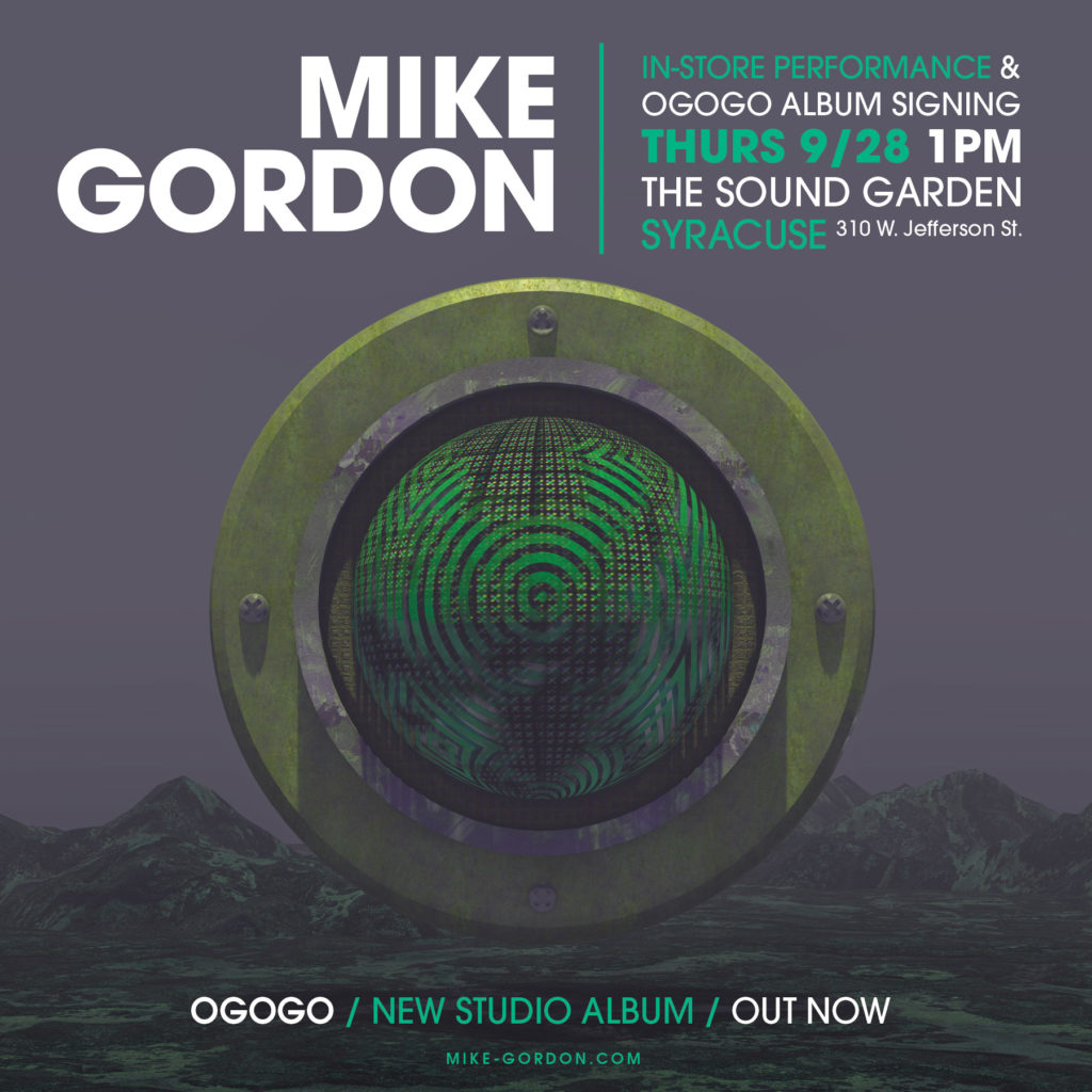 MIke Gordon In Store Performances + FL.