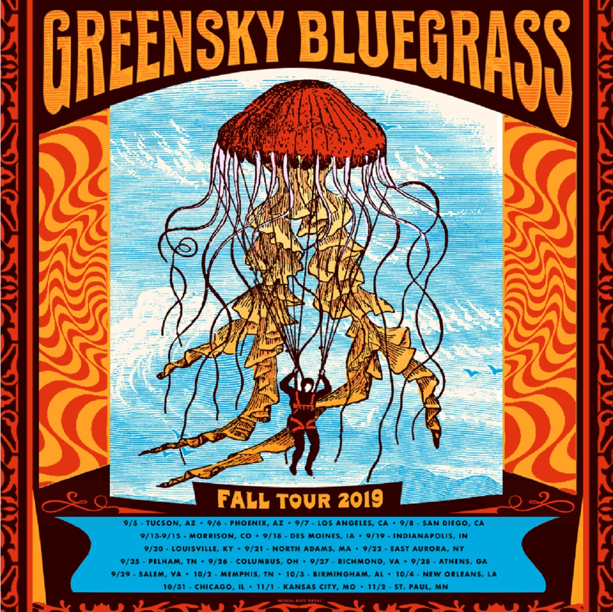 Greensky Bluegrass Announce 2019 Fall Tour Dates