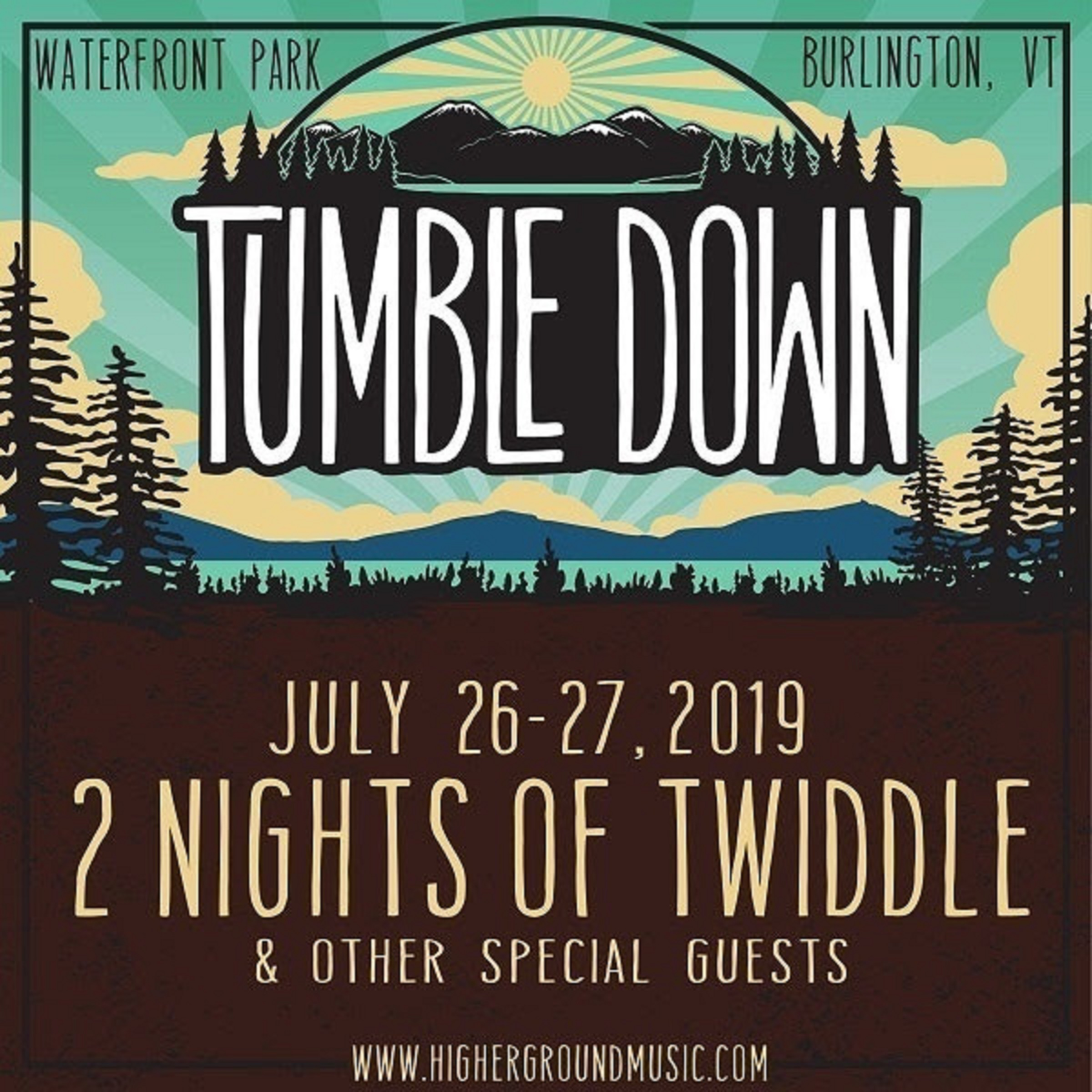 Twiddle AnnouncesTumble Down 2019