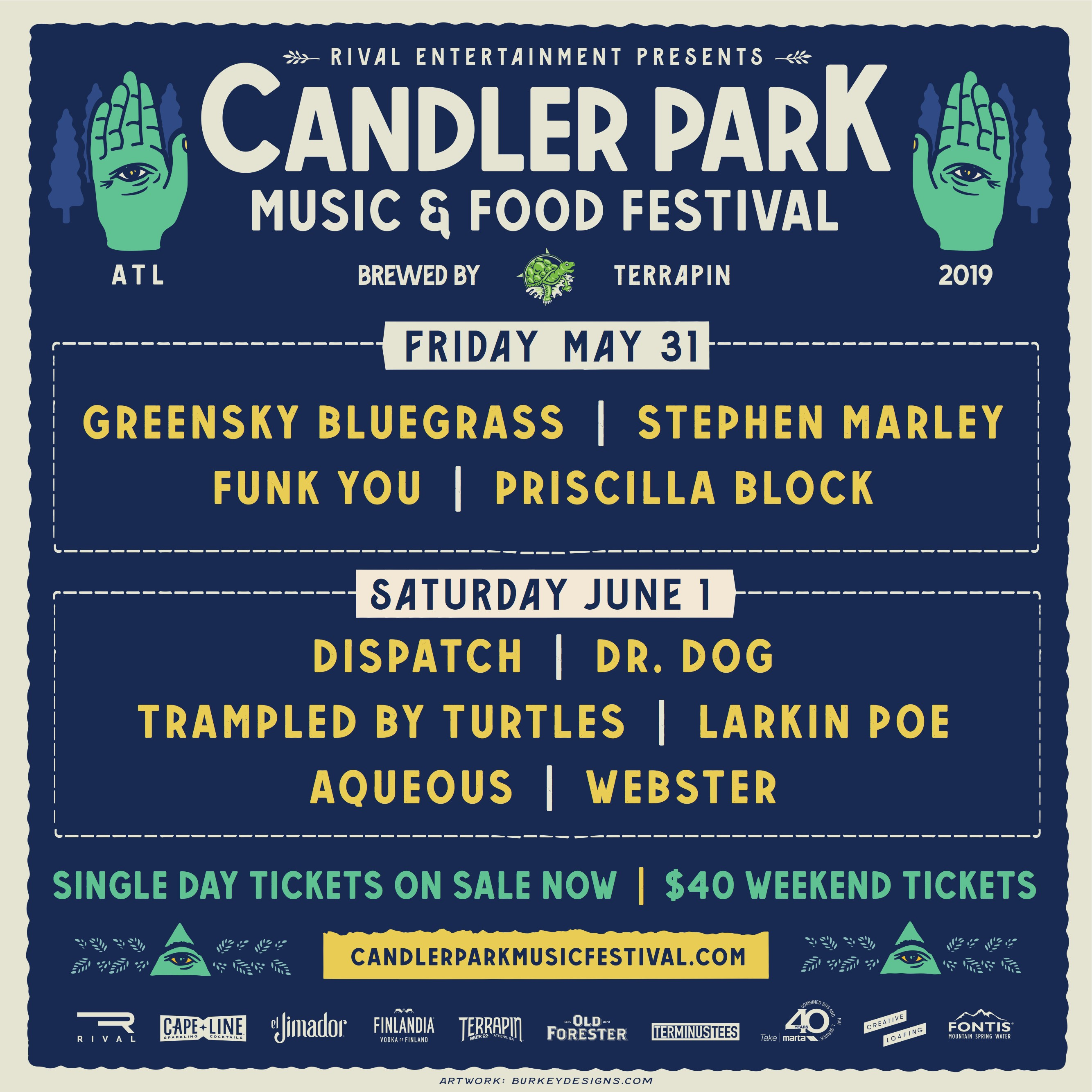 Candler Park Music & Food Festival Announces 2019 Lineup