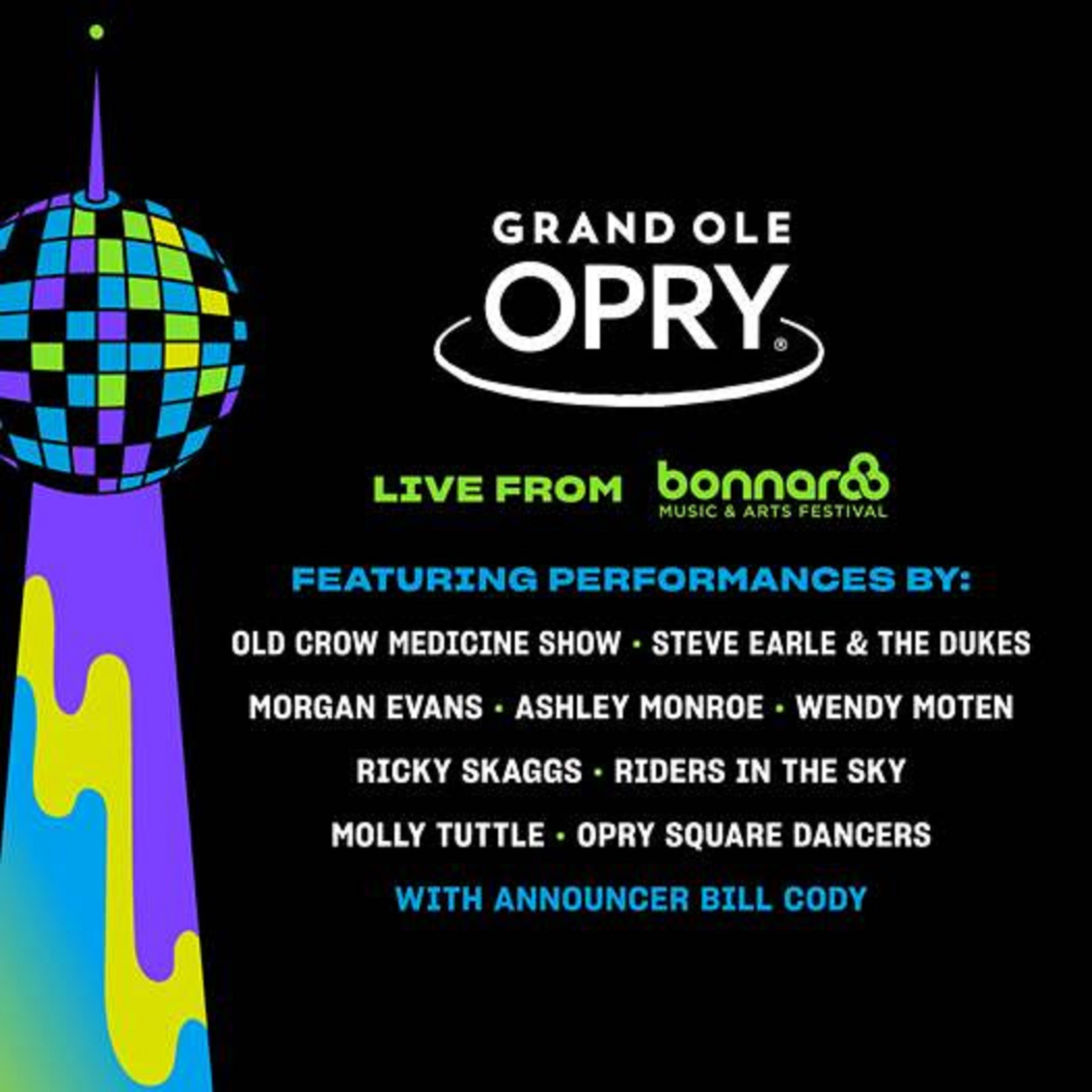Grand Ole Opry returns to Bonnaroo 2019