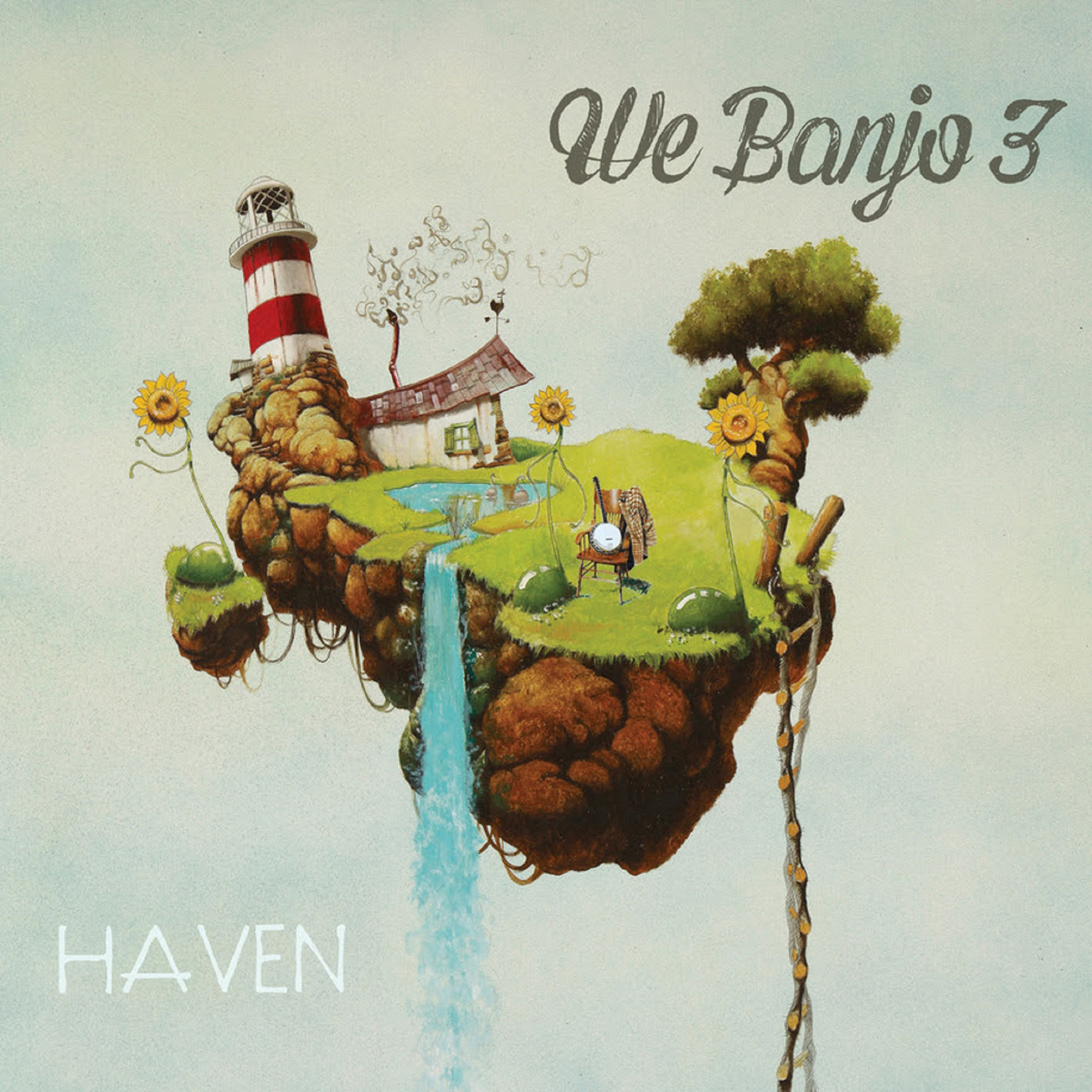 WE BANJO 3 announces release of HAVEN on 7/27